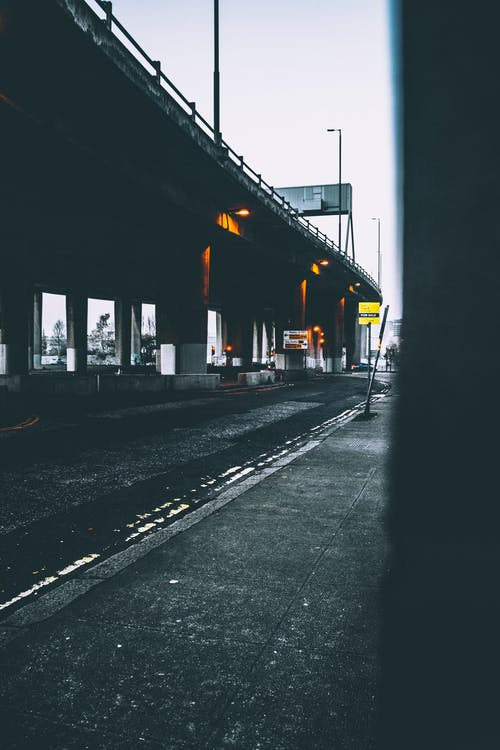 Free stock photo of architectural design, architecture, blur, bridge