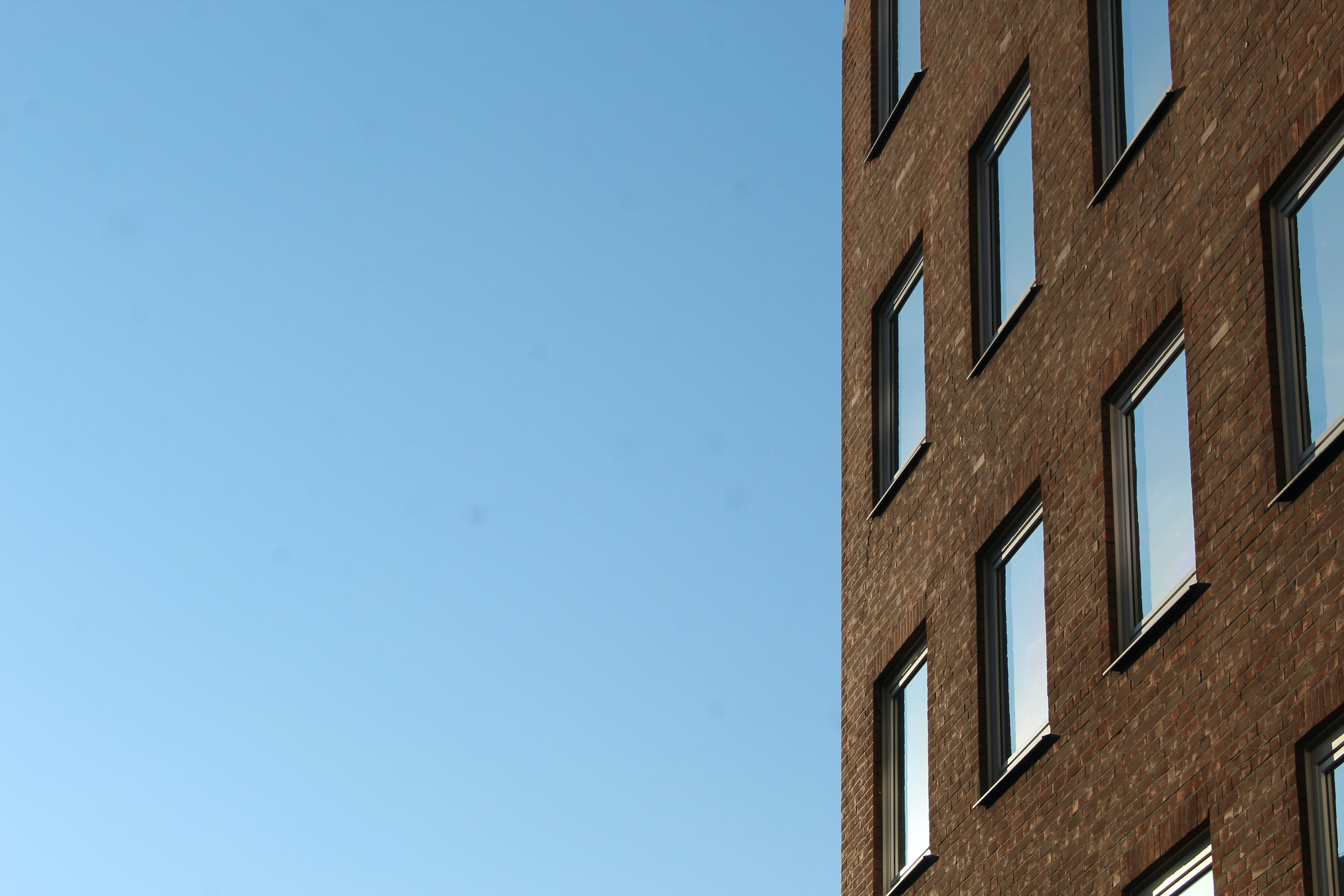 Kostenloses Stock Foto zu android wallpaper, apartment building, blue sky, free wallpaper