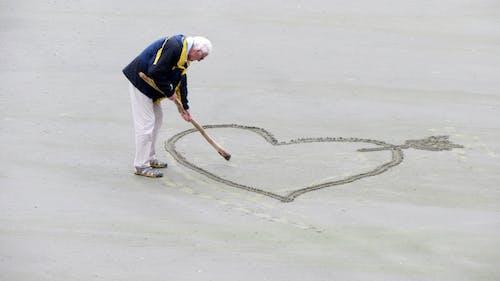 人, 愛, 浪漫的, 海灘 的 免費圖庫相片