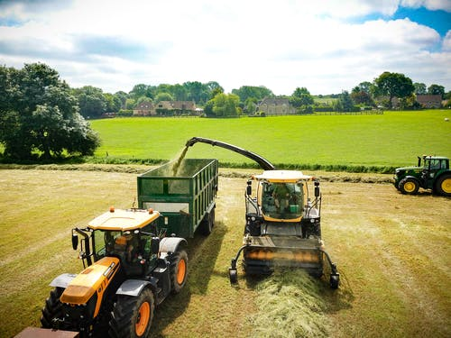 Free stock photo of Silage Time