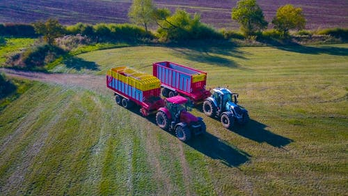 Free stock photo of Making Silage For Dairy Cows