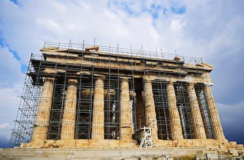 Immagine gratuita di acropoli, antico, atene, famoso punto di riferimento