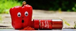 food, marketing, red