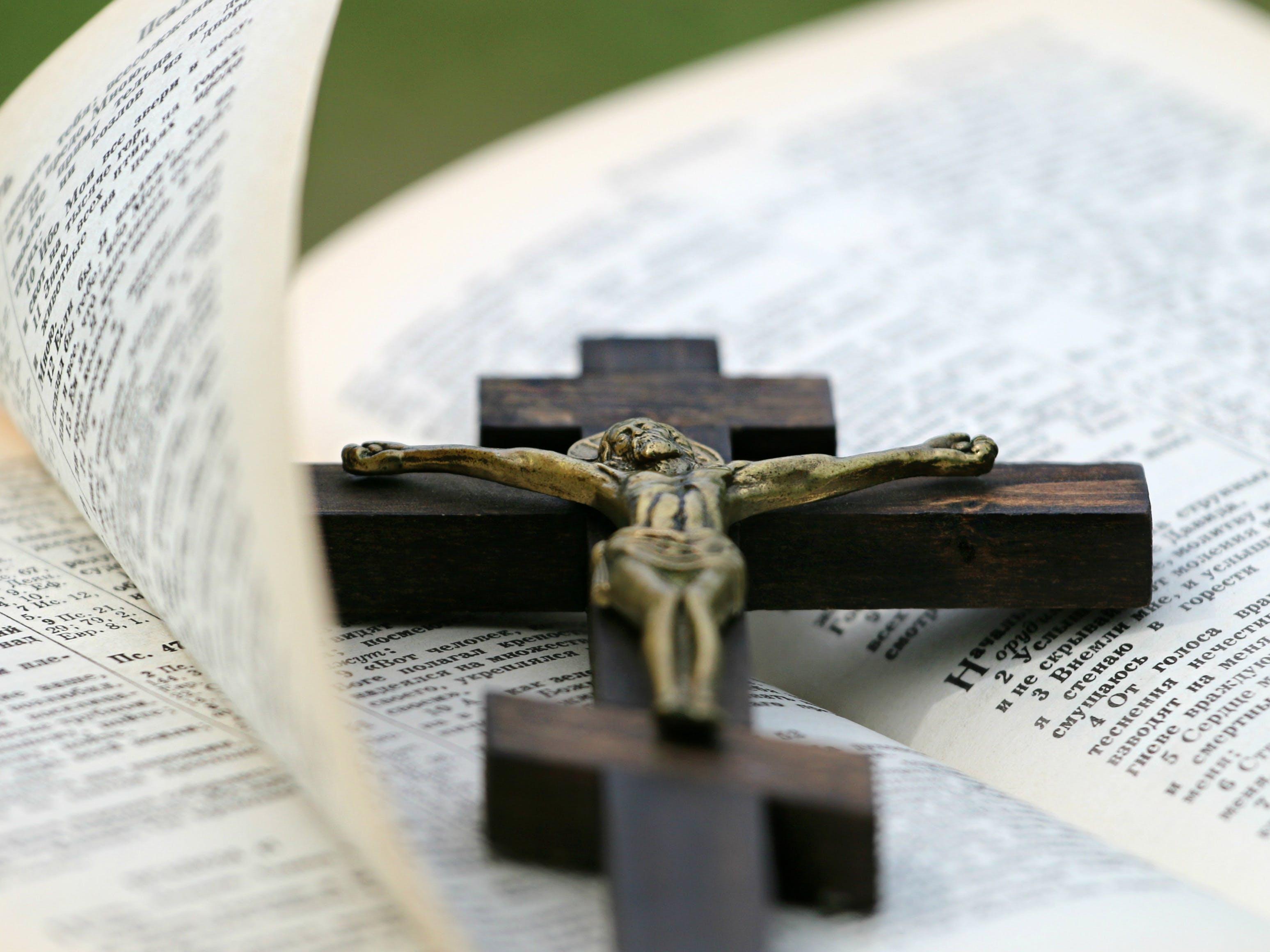 Kostenloses Stock Foto zu bibel, buch, christentum, jesus