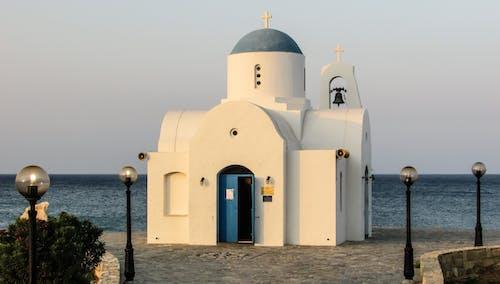 アギオスニコラオス教会パラリムニ, キプロス, クロス, ベルの無料の写真素材