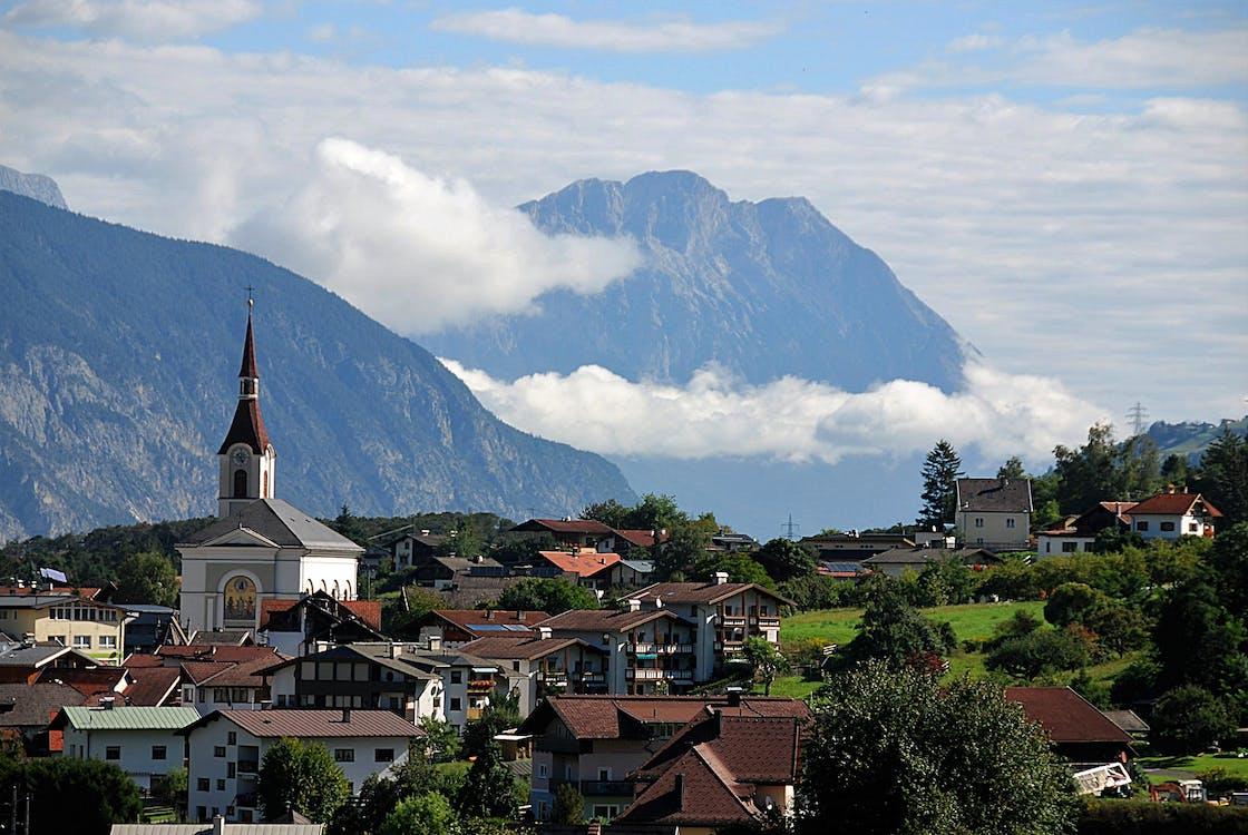 City Near the Mountain Photography