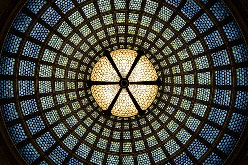 Darmowe zdjęcie z galerii z architektoniczny, architektura, centrum kulturalne chicago, geometryczny
