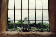 glass, window, decoration