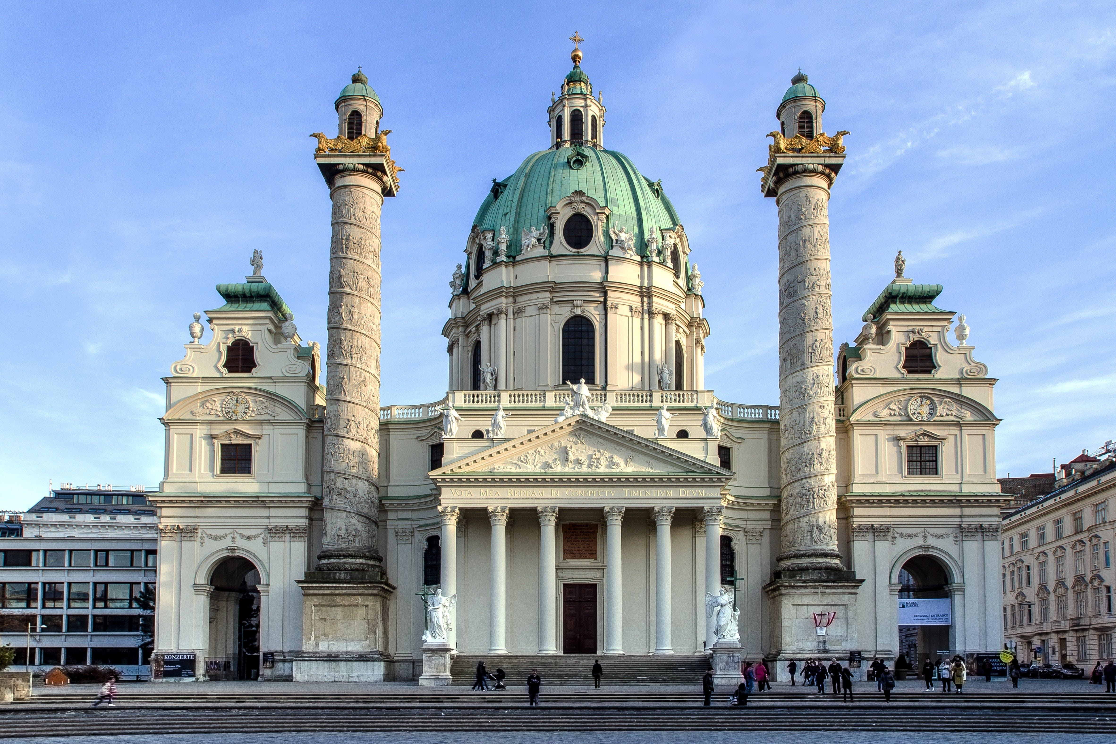 antiguo, arquitectura, Austria