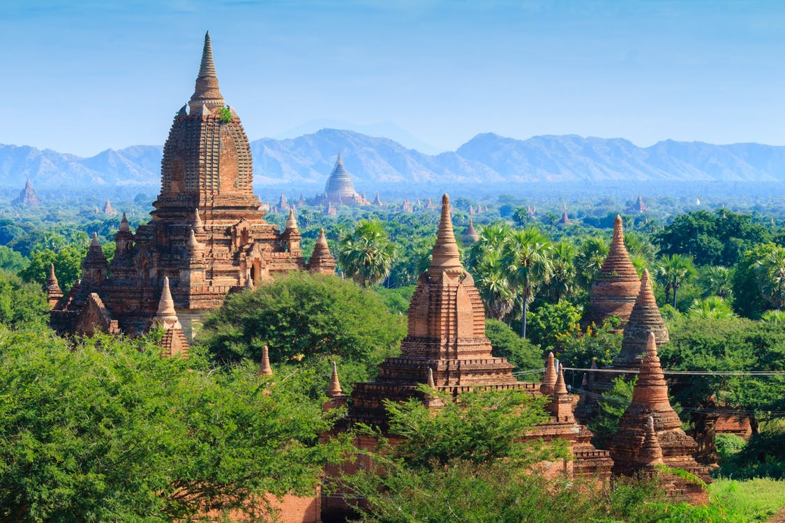 Free stock photo of archaeological area, bagan, myanmar