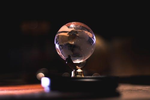Kostenloses Stock Foto zu durchsichtig, filter, globus, golden