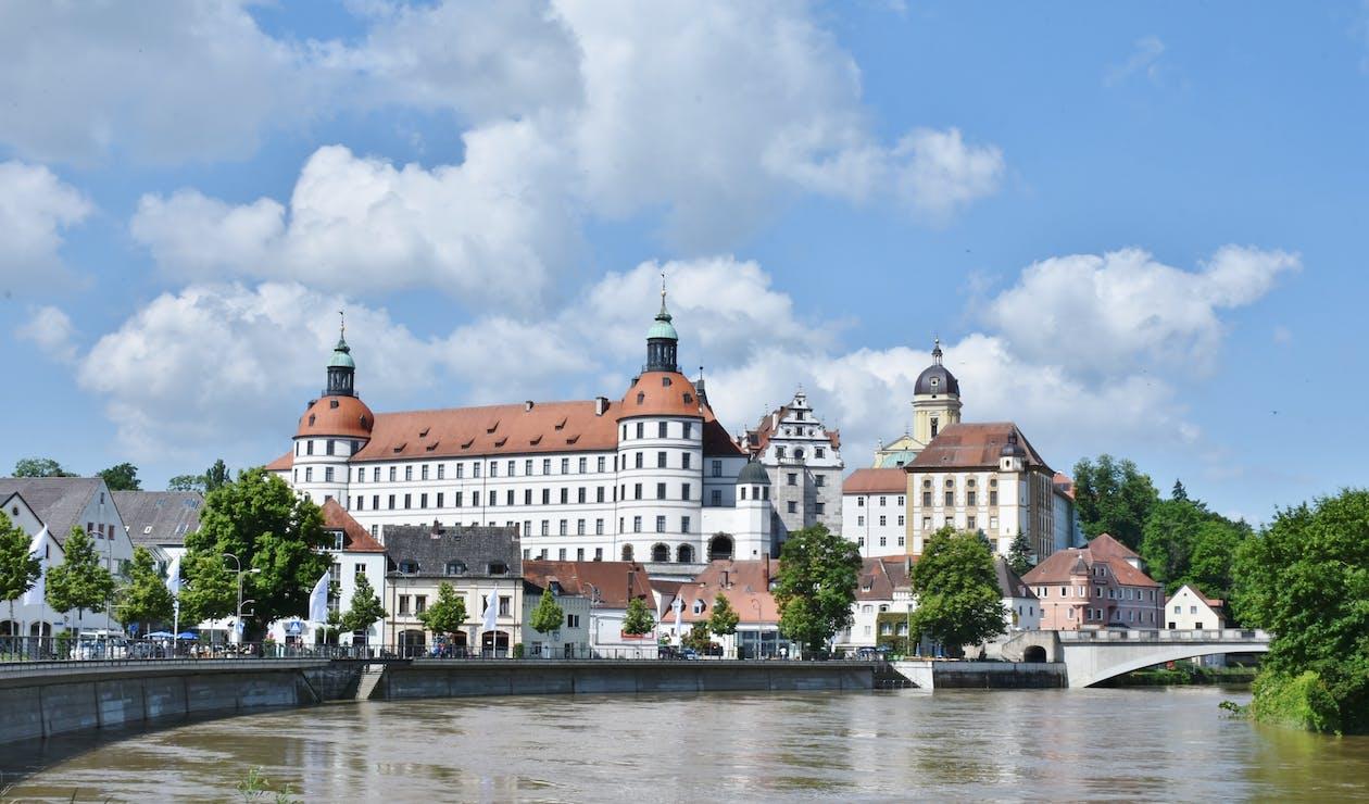 acqua, architettura, Baviera