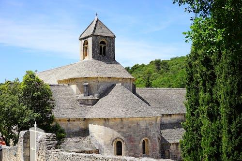 Gratis lagerfoto af abbaye de sananque, afdeling af vaucluse, arkitektur, bistum avignon