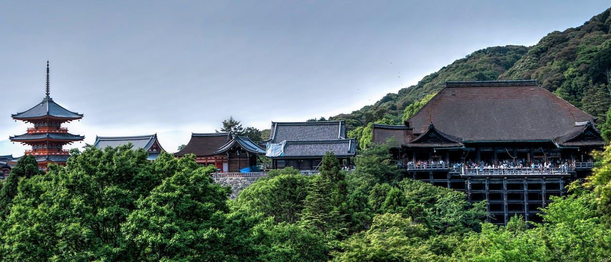 arquitectura, Àsia, atracció