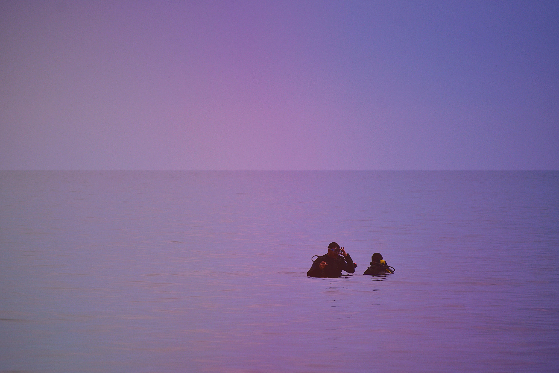Foto d'estoc gratuïta de alba, cel, gent, horitzó