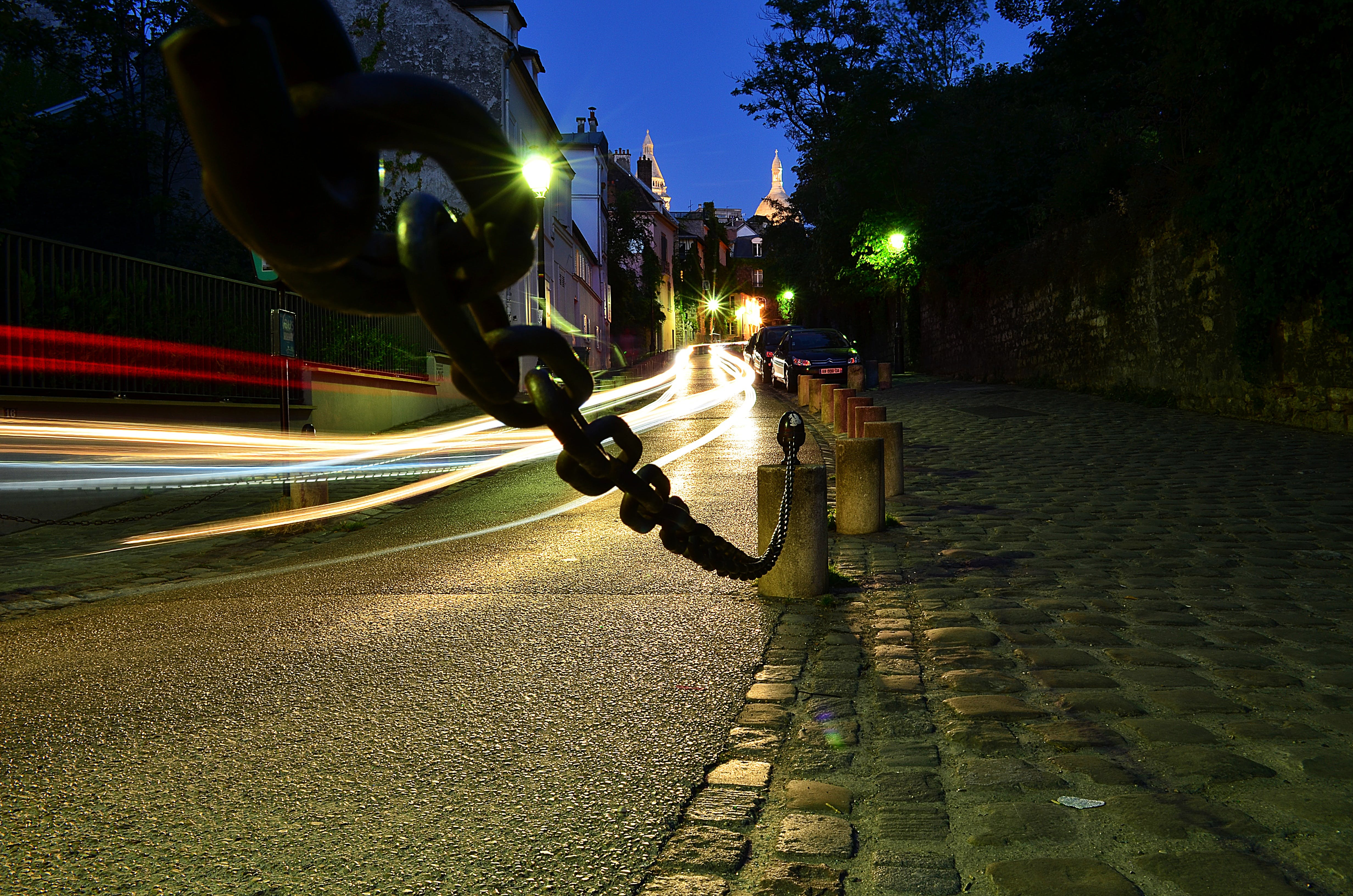 Road Time Lapse Photography