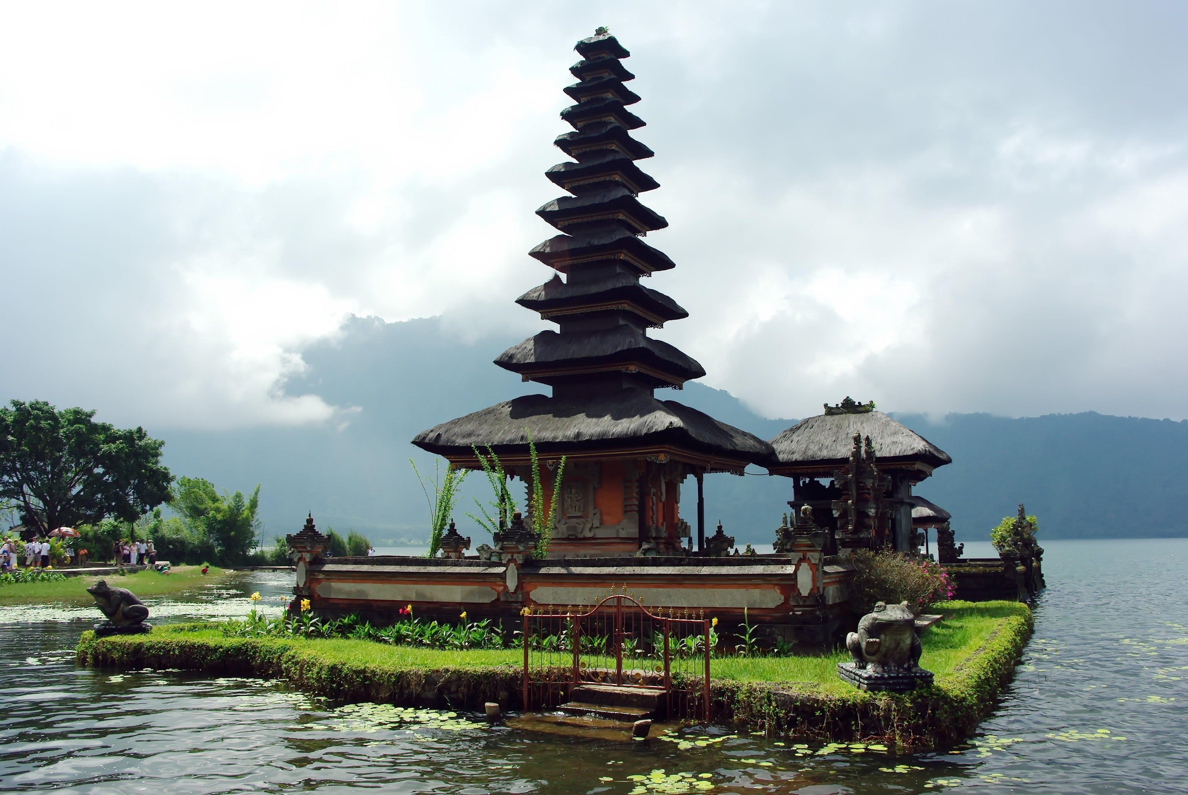 Free stock photo of bali, bratan lake, indonesia, religion