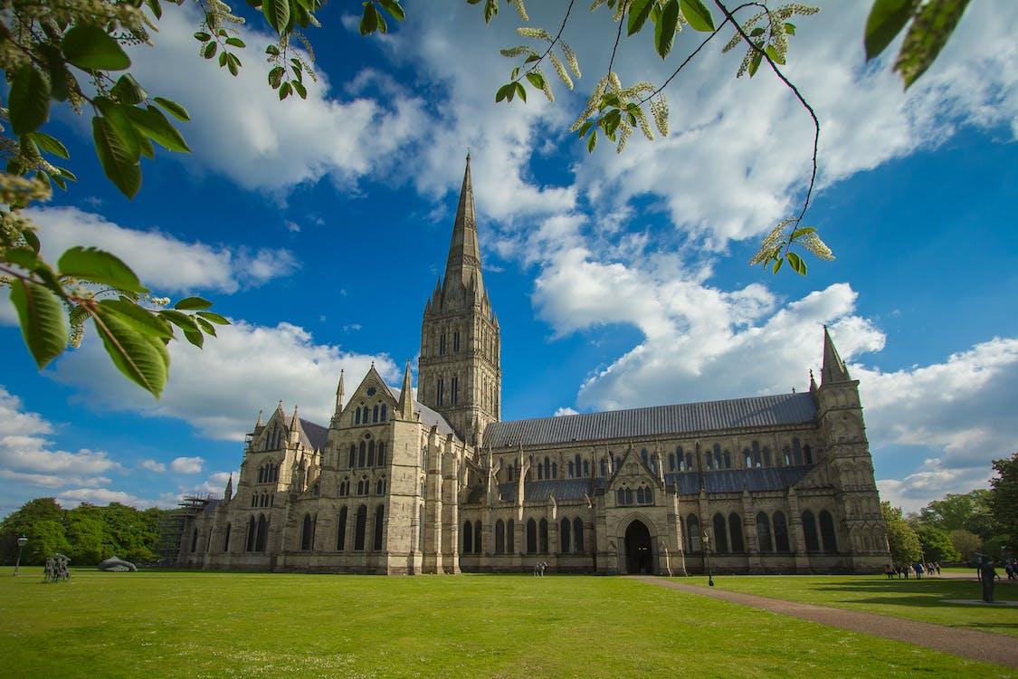 arquitectura, catedral, cel