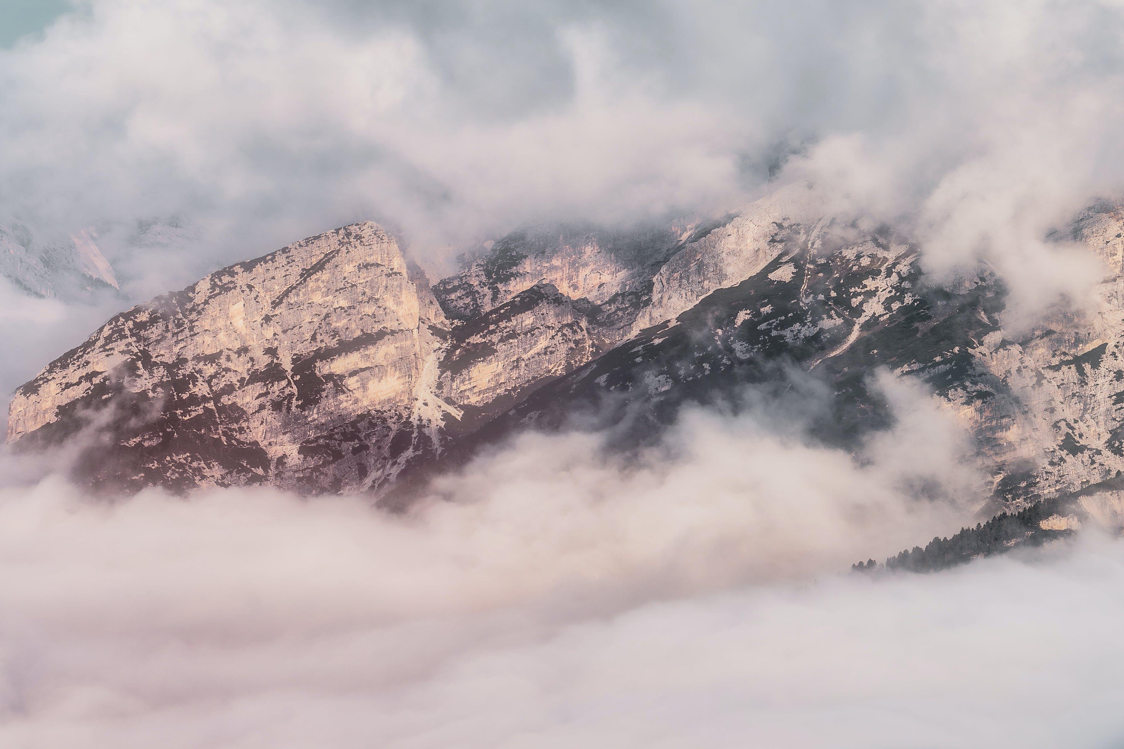 Ilmainen kuvapankkikuva tunnisteilla dolomiitit, flunssa, kalliovuori, lumi