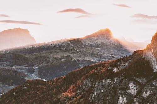 Foto stok gratis alam, dingin, Fajar, gunung