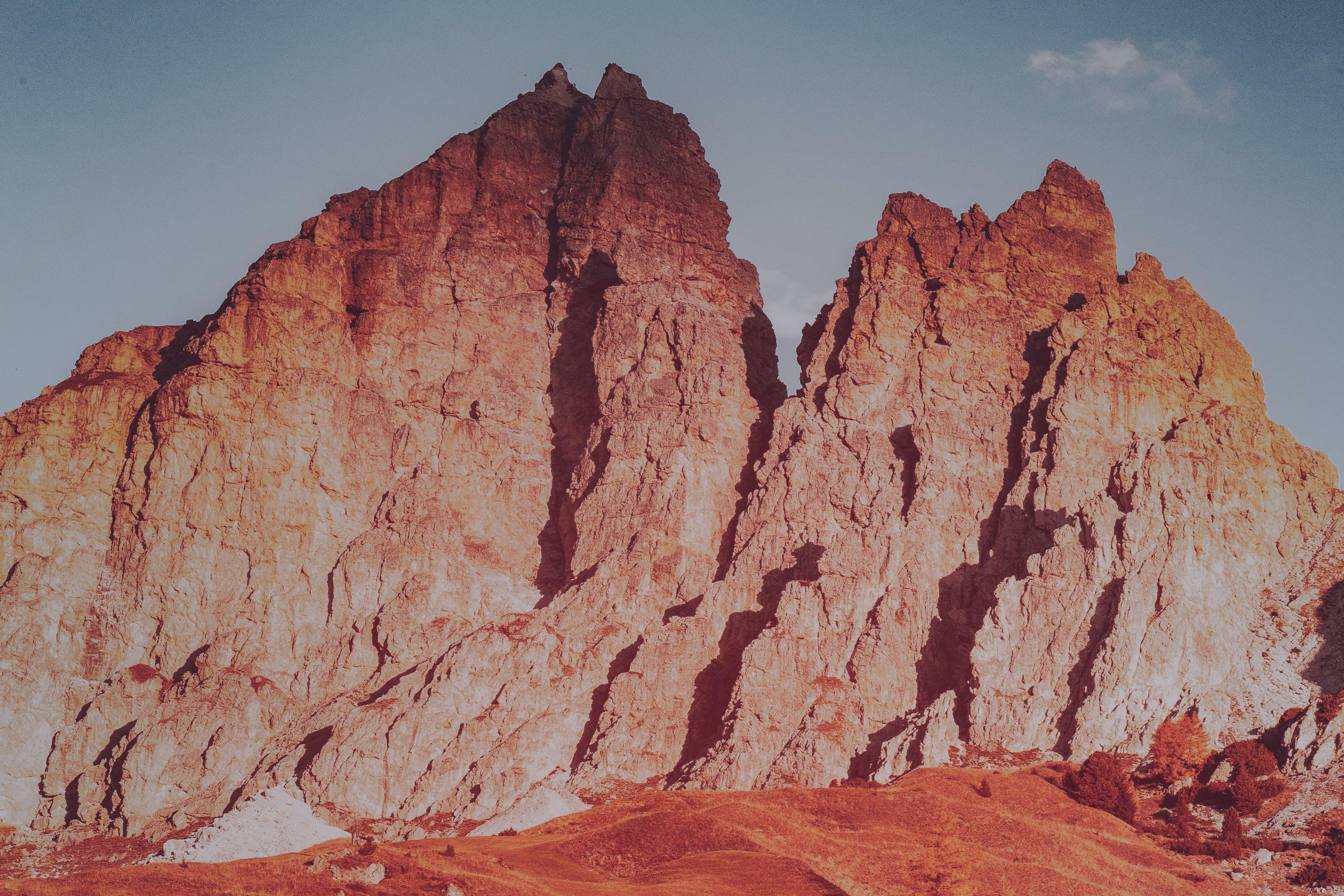 Brown Rocky Outcrop