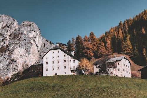 天性, 山, 岩石, 建築 的 免費圖庫相片