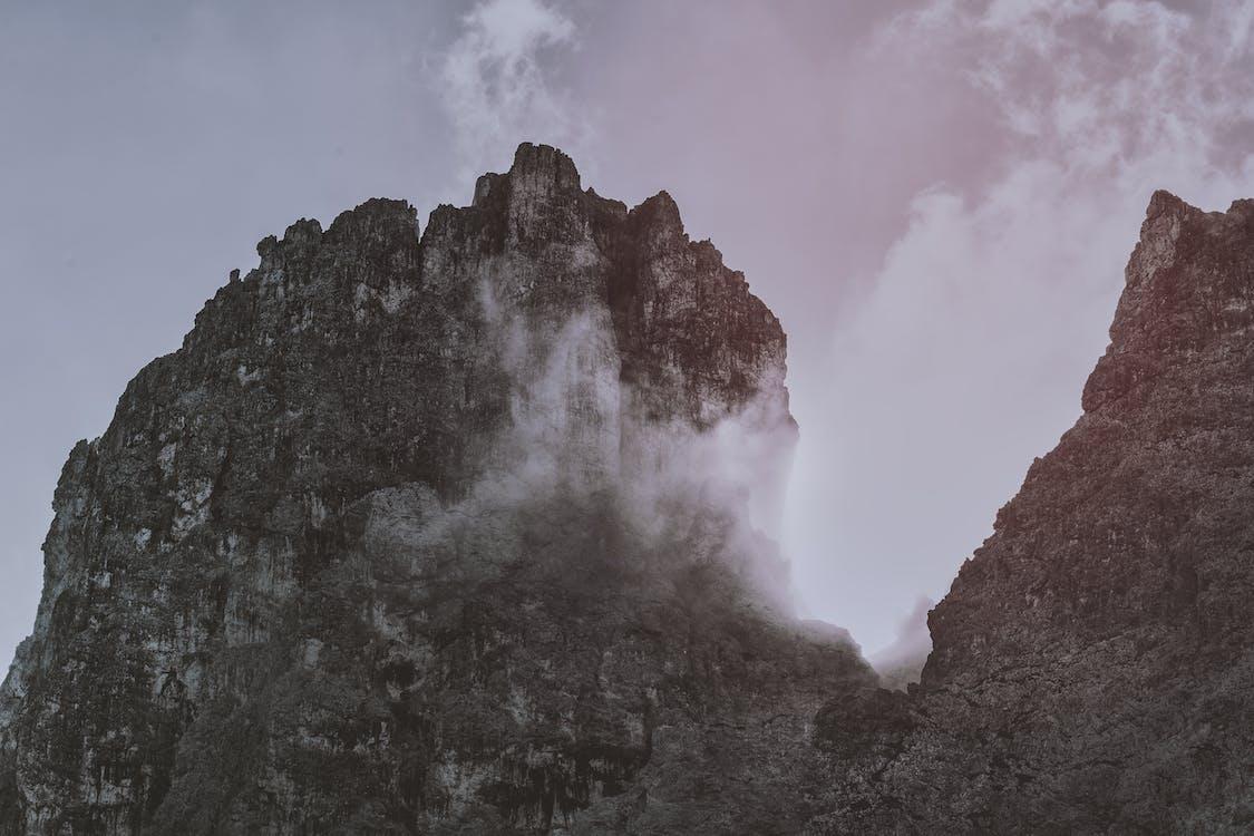 bergen, bergtop, bergtoppen