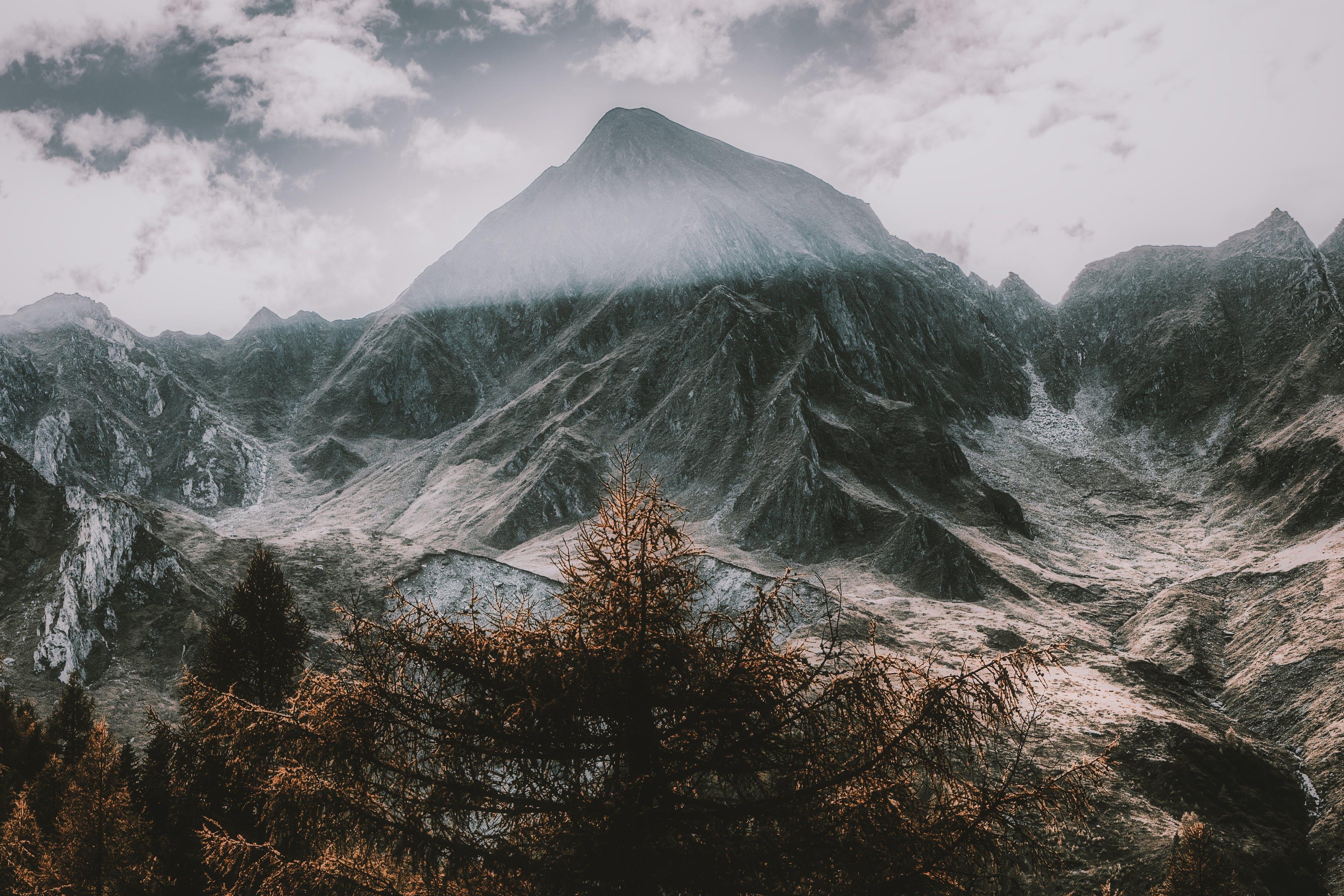 Kostnadsfri bild av bergen, bergstopp, dagsljus, himmel