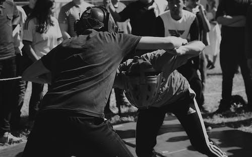 Δωρεάν στοκ φωτογραφιών με αγόρια που αγωνίζονται, βιντεοπαιχνίδι, κράνος, μάχη