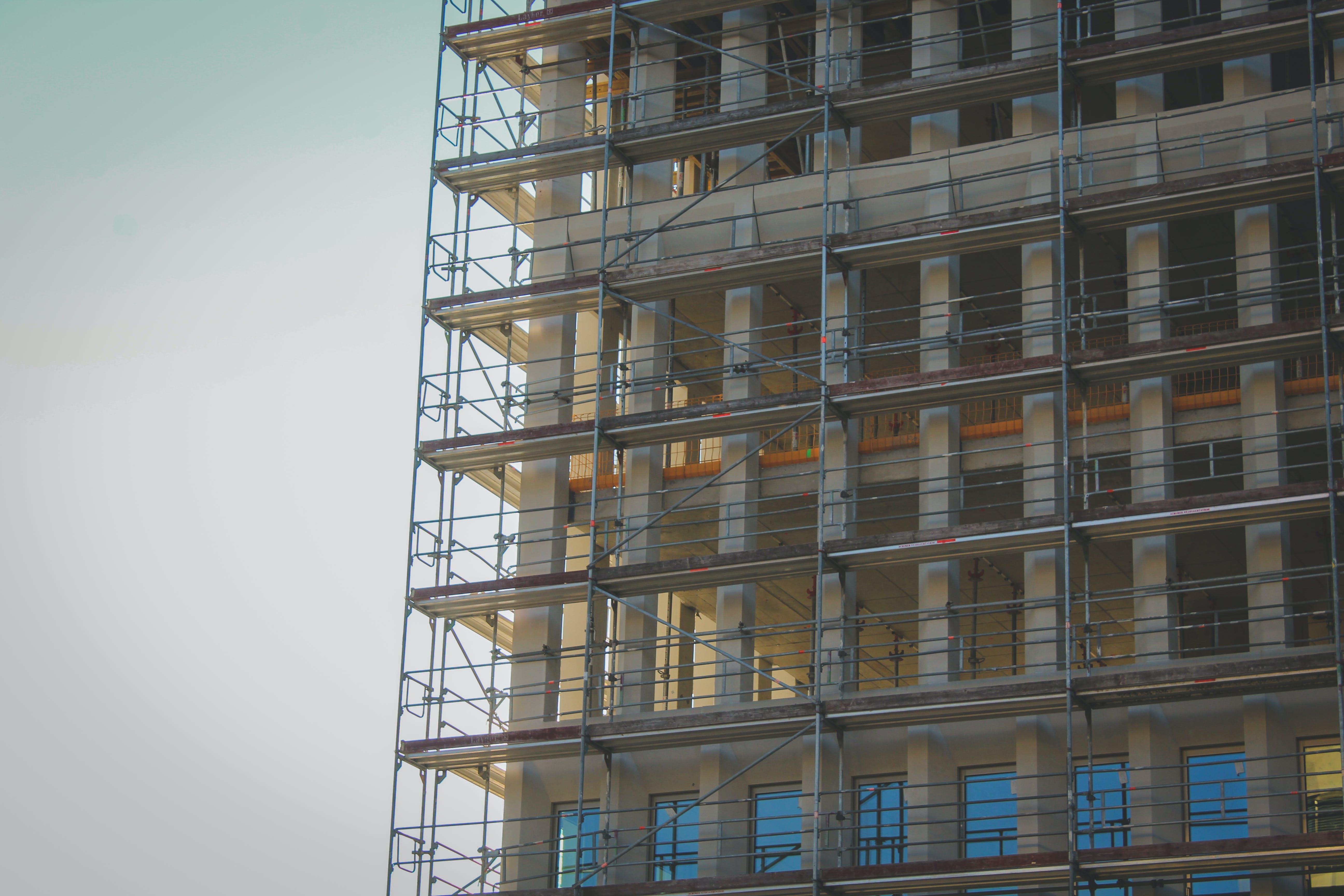 Kostenloses Stock Foto zu building site, clear sky