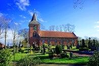 grass, architecture, church