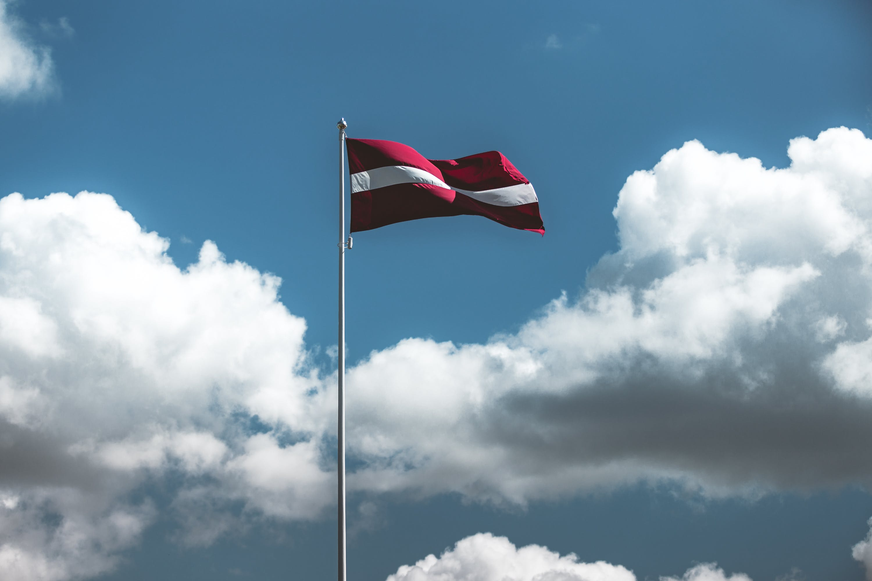 Free stock photo of blue sky, daytime, flag, independence