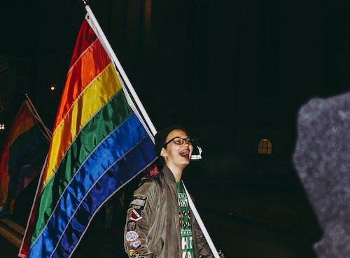 Gratis lagerfoto af briller, farverig, jakke, LGBT