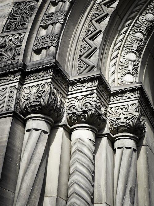 Gratis arkivbilde med arkitektur, bygning, design, eldgammel