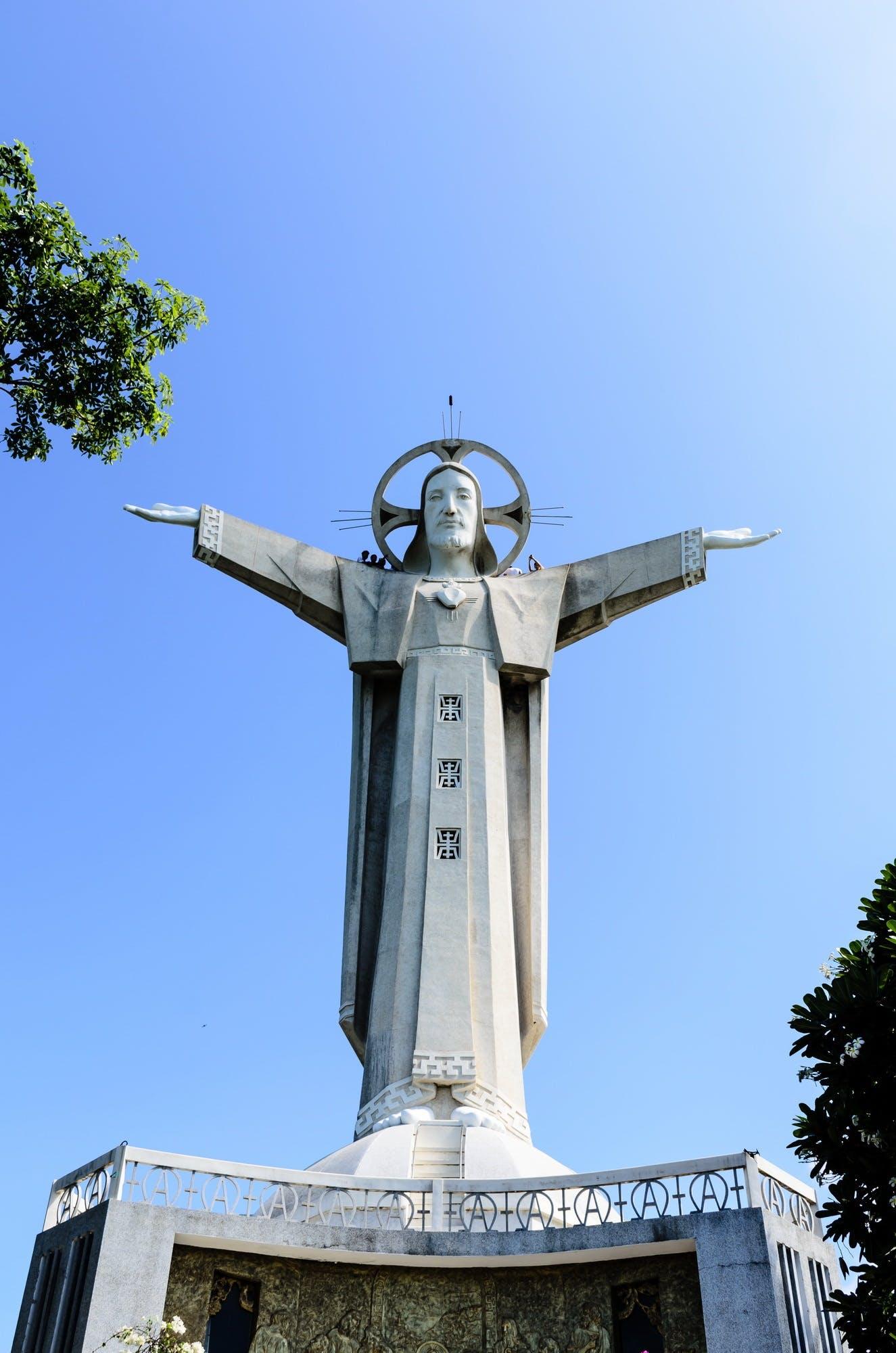 Free stock photo of statue, catholic, jesus, tourism