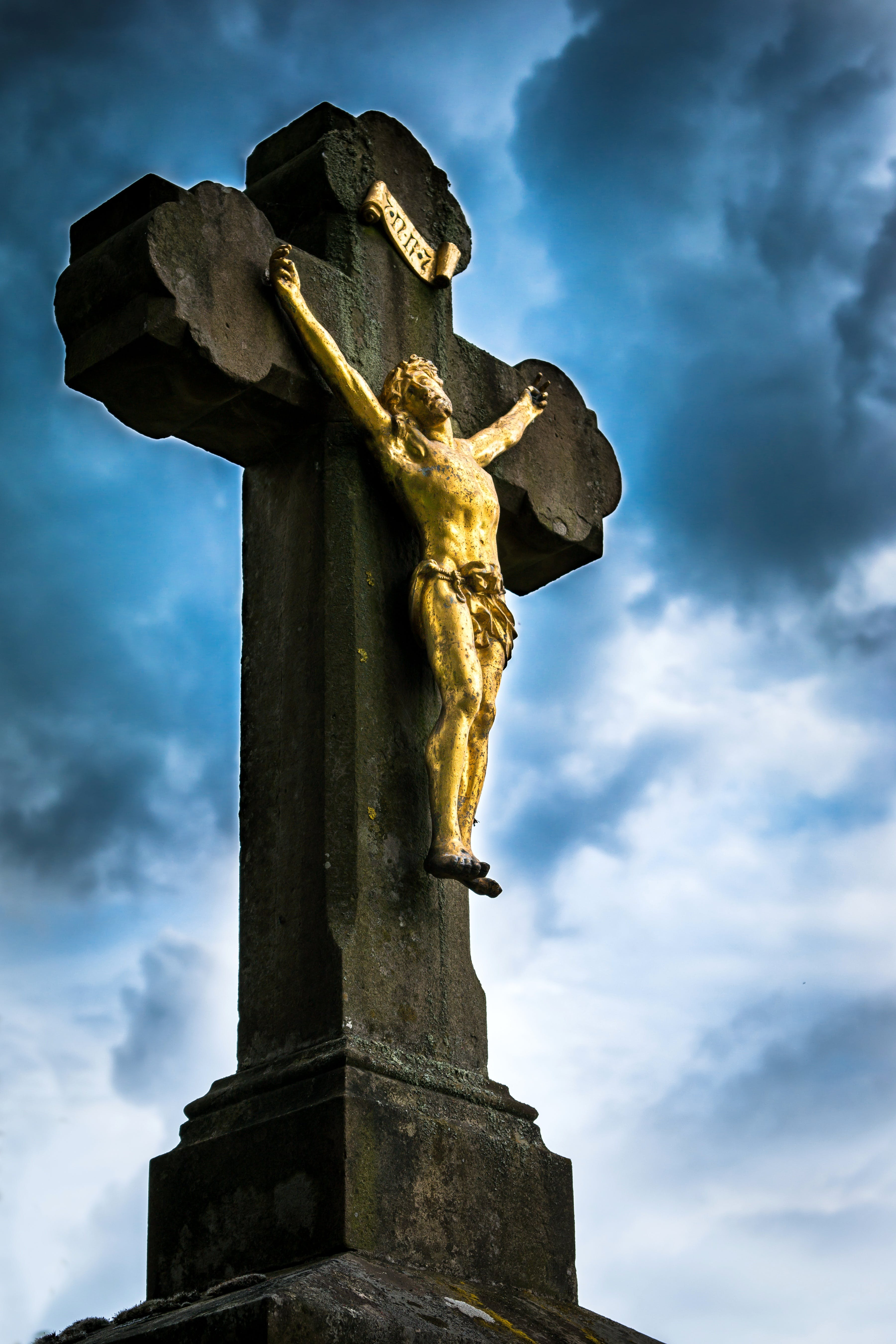 Free stock photo of sky, easter, cross, religion