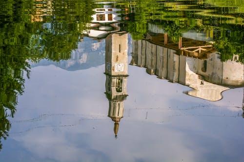 Δωρεάν στοκ φωτογραφιών με αντανάκλαση, αρχιτεκτονική, κτήριο, νερό