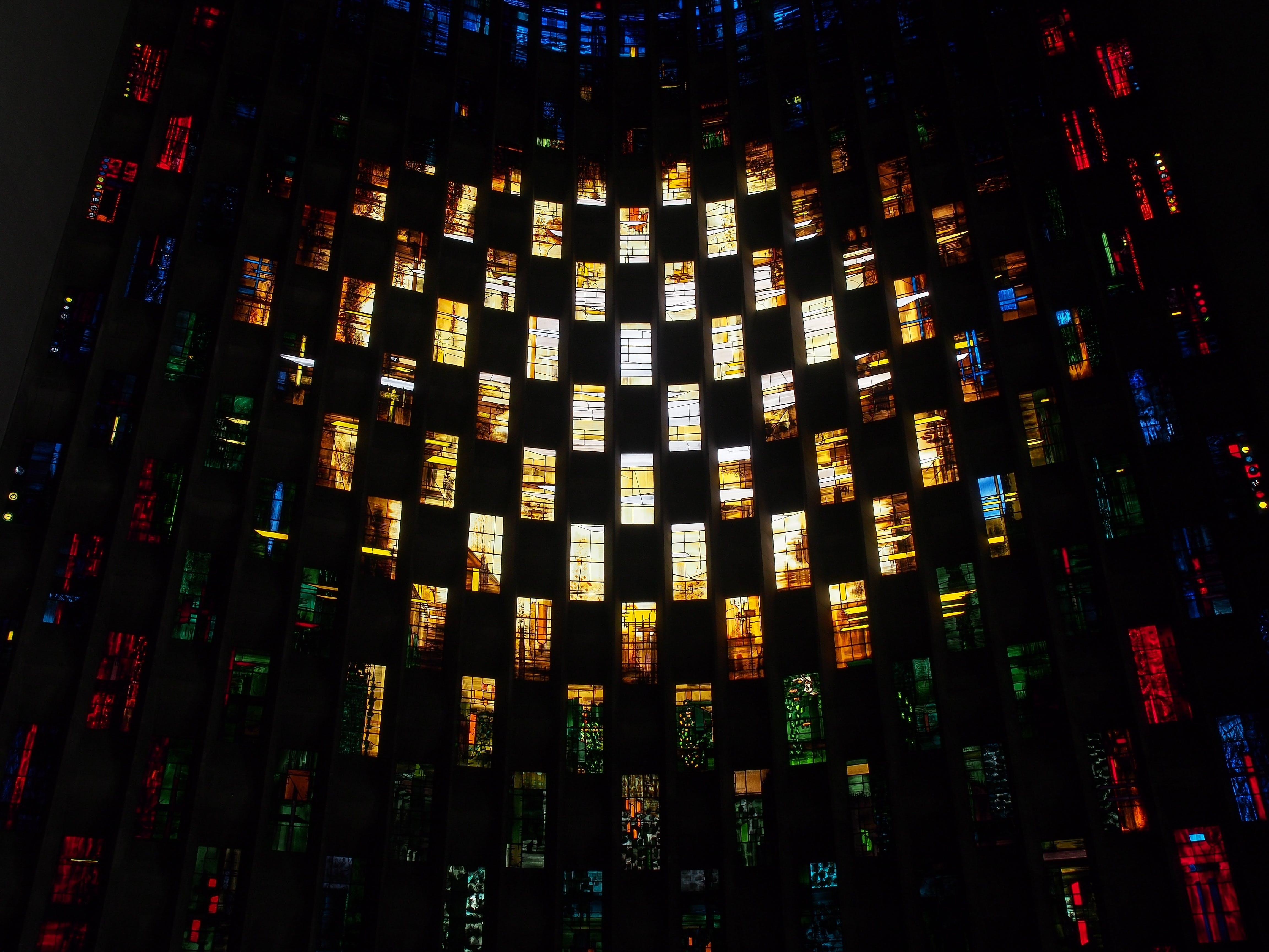 Free stock photo of light, creative, pattern, glass