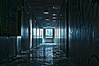 dark, wall, abandoned