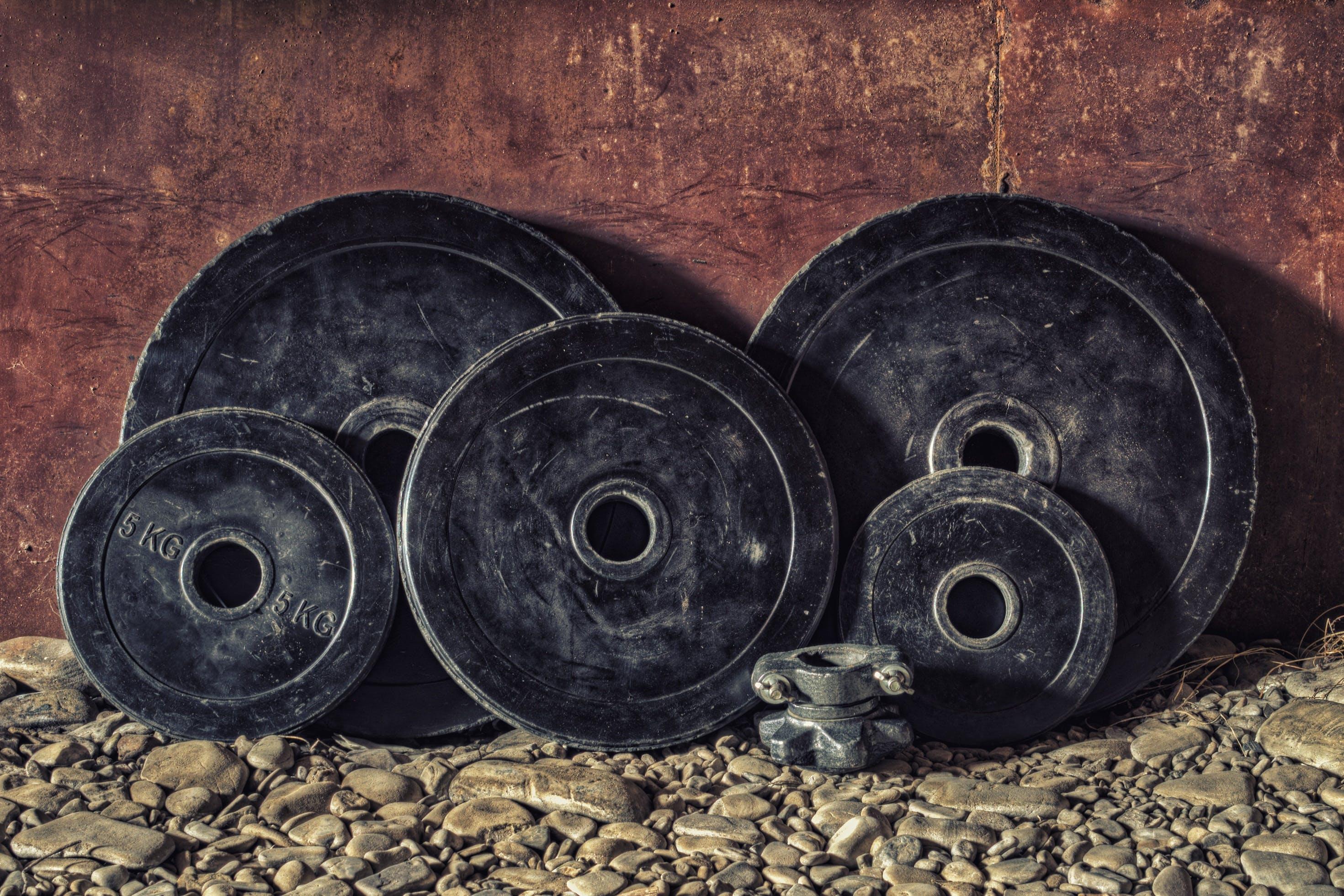Kostenloses Stock Foto zu ausrüstung, dreckig, eisen, fitness