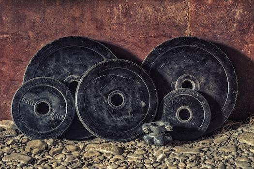 Black Bumper Plates