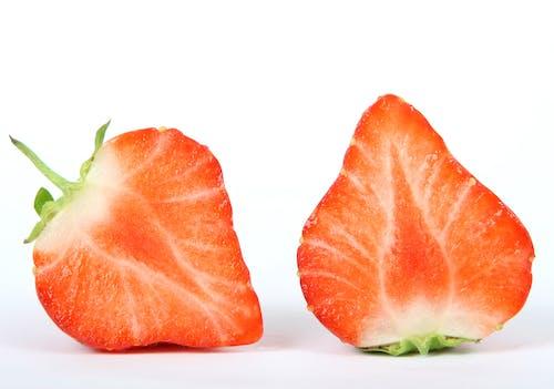 Imagine de stoc gratuită din boabe, căpșună, feliat, fruct