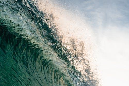Základová fotografie zdarma na téma barvy, denní světlo, mávat, moře