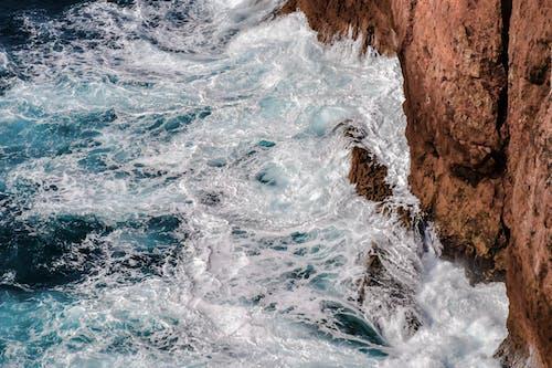 Základová fotografie zdarma na téma cákání, mávání, moře, mořská pěna
