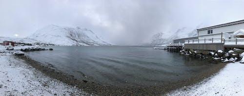 冷, 多雲的, 挪威, 日光 的 免費圖庫相片