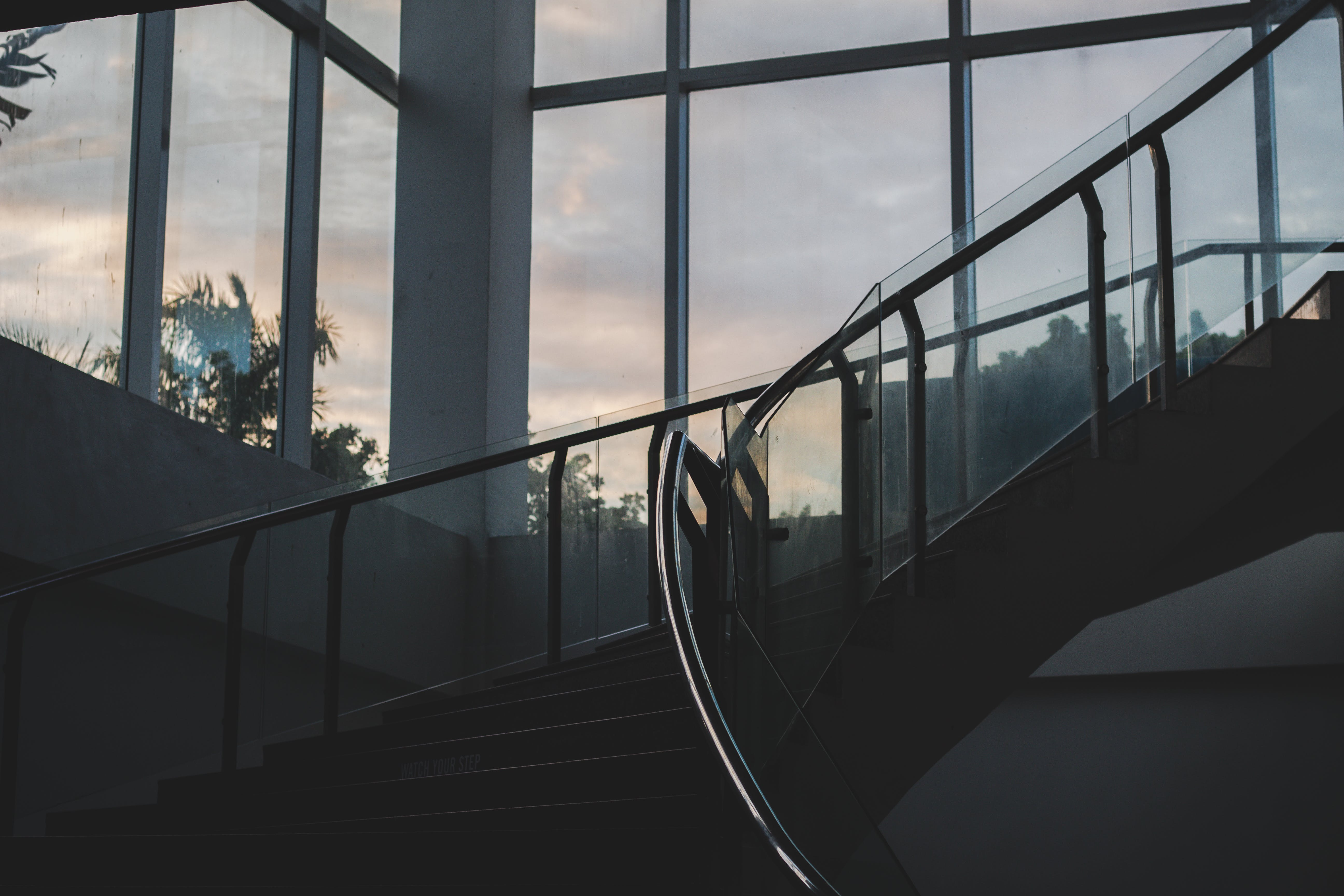 Photo of Stairs During Dawn