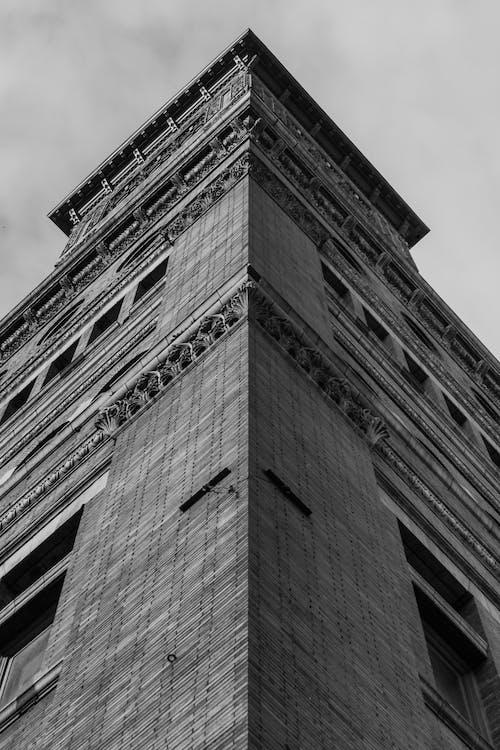 Δωρεάν στοκ φωτογραφιών με αρχιτεκτονικές λεπτομέρειες, αρχιτεκτονική, ασπρόμαυρο, αστικός