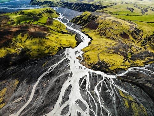 Ingyenes stockfotó felülről, festői, hegy, környezet témában