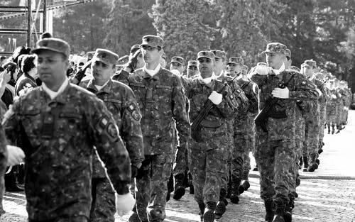 Army Walking