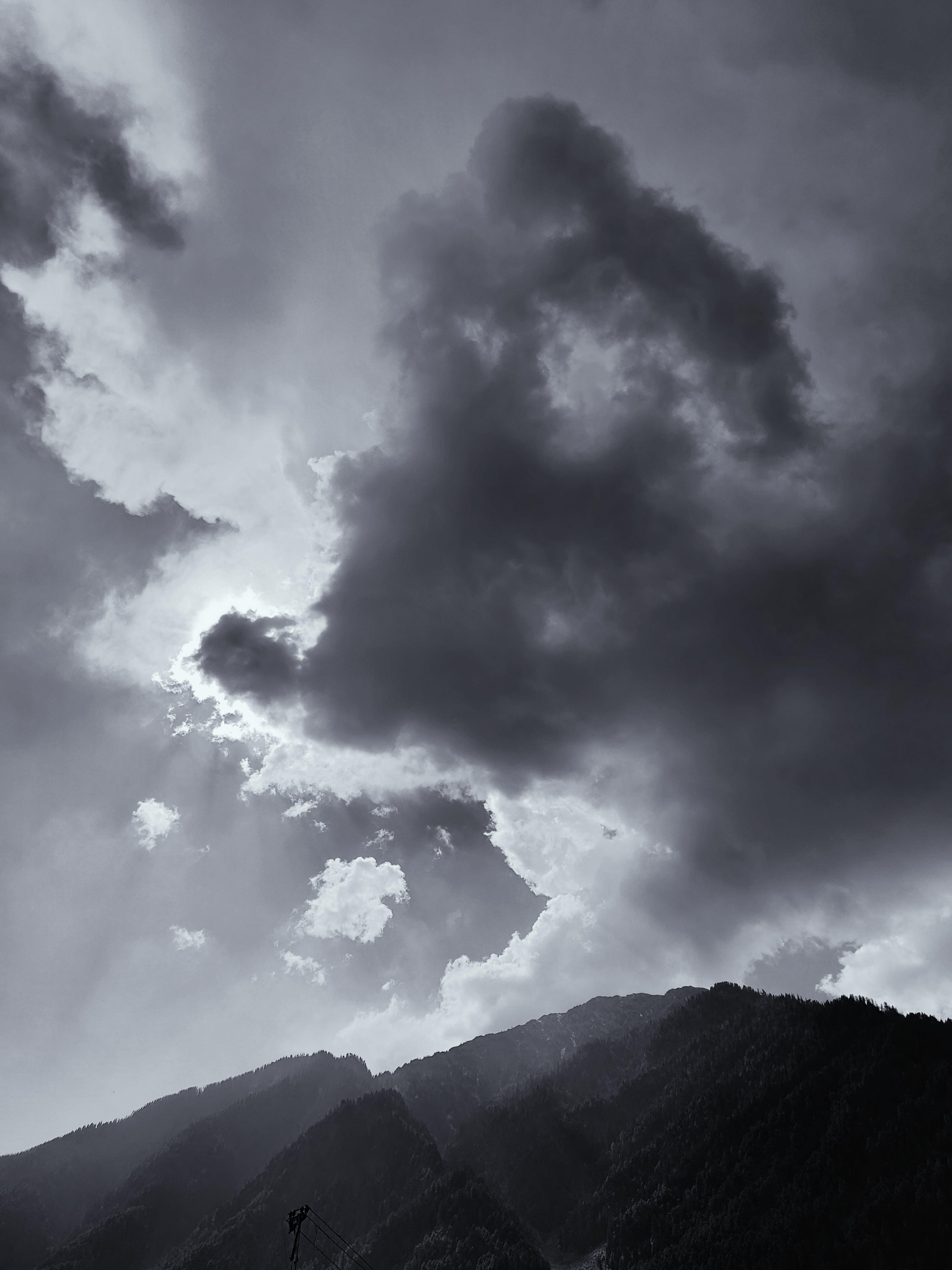 경치, 경치가 좋은, 구름, 산의 무료 스톡 사진